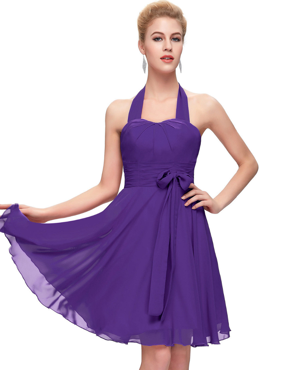 Sexy Purple Bridesmaid Dresses