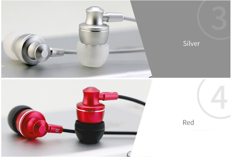 Super Bass Earphone Metal In-Ear Mobile Earbud Computer MP3 Universal 3.5MM Clear Voice Amazing Sound HiFi Earplug for Xiaomi