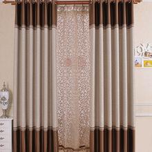 Simplife Tulle Window Elegant Luxury Semi Sheer Embroidery Blackout Drape Translucidus Curtain for Living Room Bedroom CL202