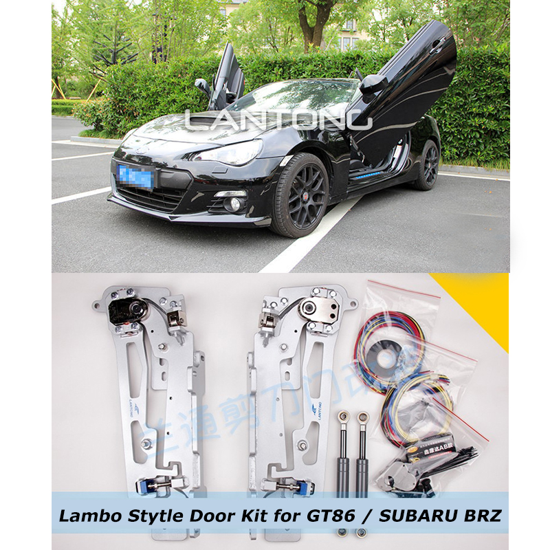 Z-ART lambo door hinge for Toyota GT86 SUBARU BRZ Car Lambo Stytle Door Kit 60 Degree Vertical Door Free DHL Shipping(China (Mainland))