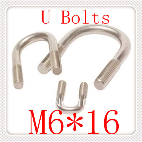 20PCS  DIN3570 Stainless Steel  M6*16 U Type Bolts<br><br>Aliexpress