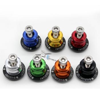 For Suzuki GSXR 600 750 1000 1300 Sv650 B-king TL1000 DL650 DL1000 GSX 650F 750F Free Shipping 8mm Swingarm Sliders Spools