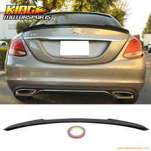 Buy For 2015 Mercedes Benz C-Class W205 V Style Ducktail Carbon Fiber CF Luggage Trunk Spoiler for $171.00 in AliExpress store
