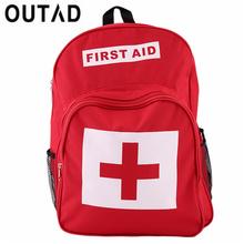 Красный Крест рюкзак сумка первой помощи Спорт на открытом воздухе Отдых дома неотложной медицинской помощи, выживания мешок best продажи и п...(China)