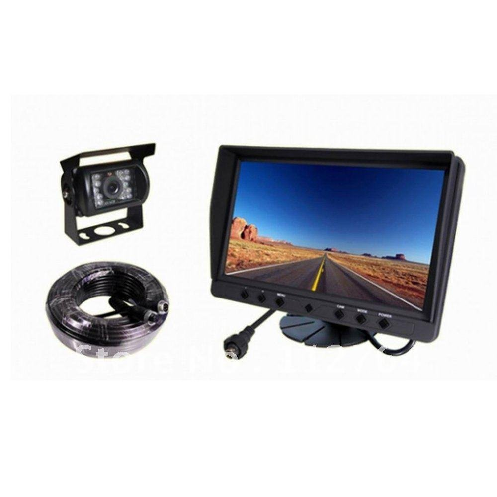 Car Rear View System 9 Inch Lcd Monitor Mirror Night