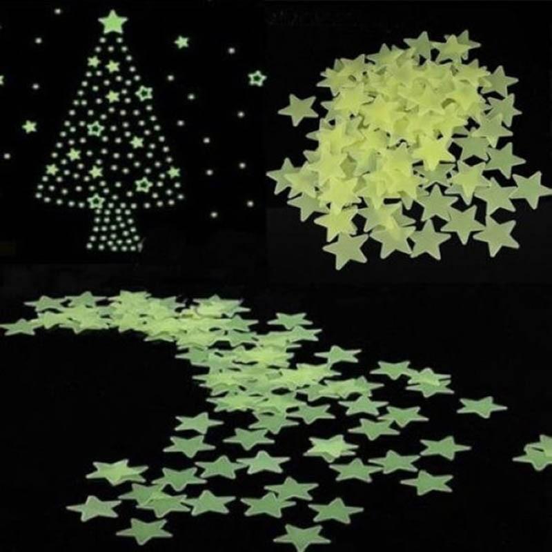 100Pcs-3D-Glow-Stickers-Luminous-stars-Baby-Bedroom-Beautiful-Fluorescent-In-The-Dark-Toy--Festival-TD0056 (5)