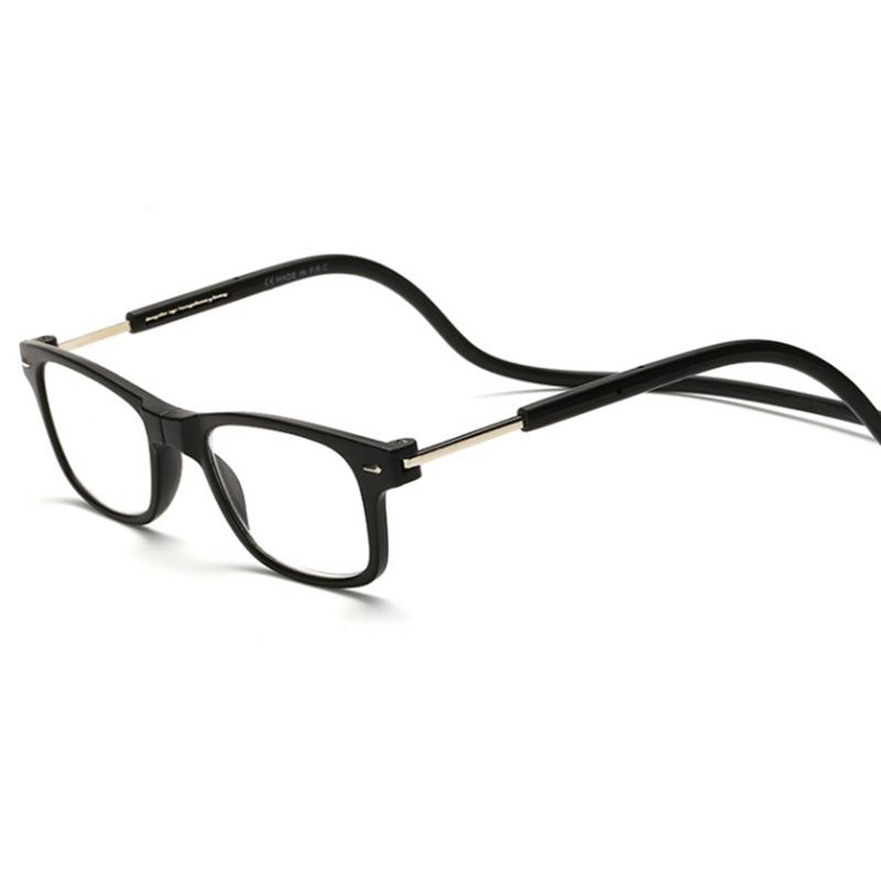 Glasses Frames With Magnetic : Magnetic Reading Glasses Men Women Hanging Neck Folding ...