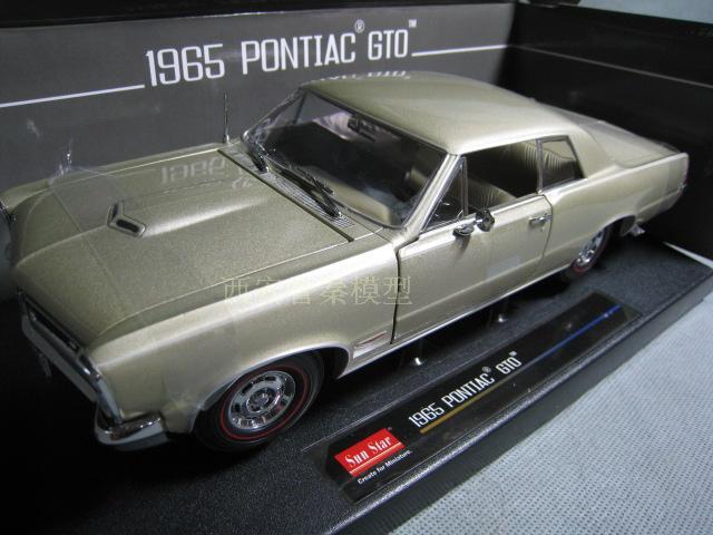 /SunSatr 1/18 1965 PONTIAC GTO Sun Star Pontiac GTO muscle car(China (Mainland))