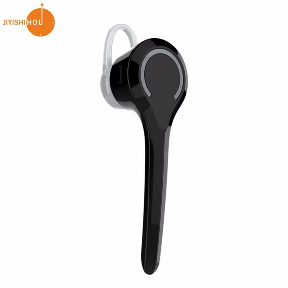 New JiYiShiHou Bluetooth Headsets V4.1 Single Ear Stereo Sound with Mic for iPhone Apple Samsung Smartphones JY-980(China (Mainland))