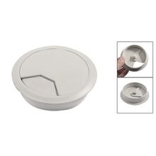 10 Pcs Wholesale 80mm Plastic Desktop Rable Cable Cover Grommet Organizer