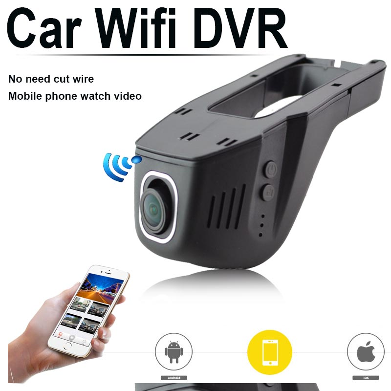 HD Special Hidden Wifi Car DVR Digital Video Recorder Black box phone watch wide angle 1080P night vision camera free shipping(China (Mainland))
