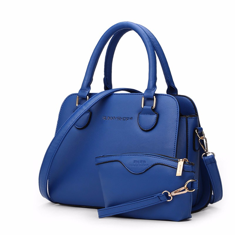 Elegant Functional Composite Bag Women Simple Handbag Cute Wrist Bag Hard PU Leather Ladies Korean Style Classy Shoulder Bag