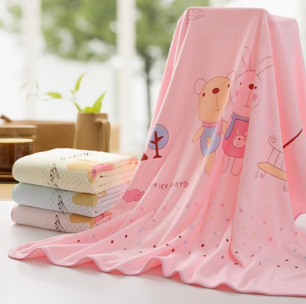 High quality 100X100cm Bath Beach Towel Brand Drying Washcloth Swimwear Shower For Children and Adults(China (Mainland))