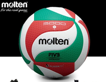 Original Molten Volleyball Ball V5M5000 TOP Quality Indoor Compitition Ball Soft Touch Volleyball bola de volei FacotryWholesale(China (Mainland))