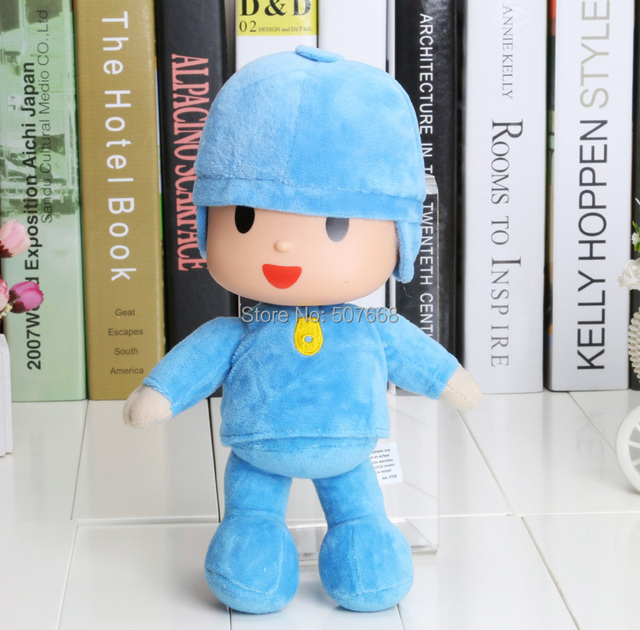 3pcs/lot 10'' New Pocoyo Soft Plush Stuffed Figure Toy Doll  Christmas Gifts For Children