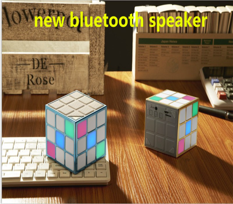 HOT sale Wireless mini MP3 Bluetooth Speaker with led color TF card surround For Phone Apple & Android PC Computer(China (Mainland))