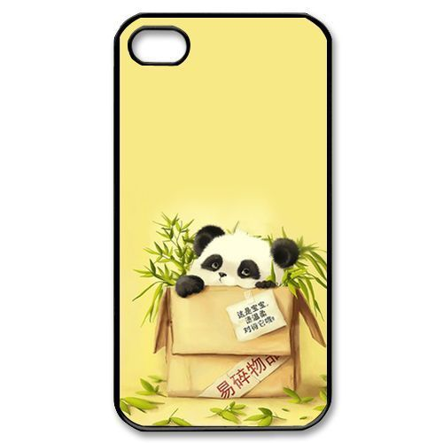 Panda Cute Funny Cell Phone Bags Case cover for Iphone 4S 5 5S 5C 6 Plus Samsung galaxy S3 S4 S5 S6 S7 edge Note2 3 4 5 HTC SONY(China (Mainland))