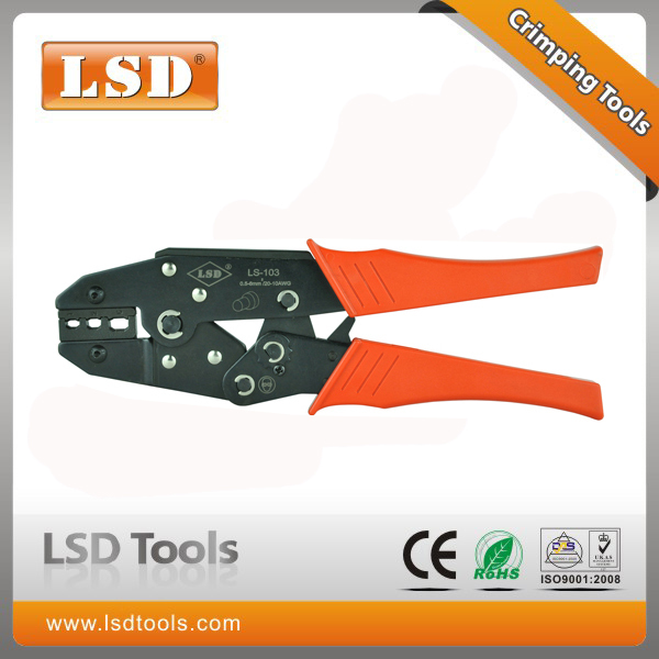 LS-103 Hand crimping tool for insulated closed cap terminal crimping pliers professional hand crimping tools(China (Mainland))