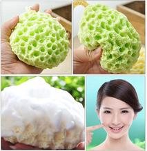 Facial Puff Face Wash Cleansing Sponge Green,Facial Sponge Face Makeup Cleansing Wash Pad Seaweed Powder Puff 40162