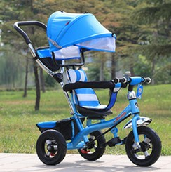 The baby carriage tricycle lightweight portable children bicycle inflatable wheels(China (Mainland))