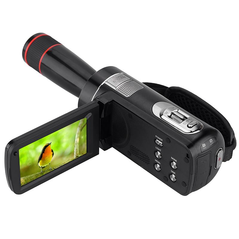 Ordro 16X 24MP HD Digital Camera Reflex Mini Camcorders w/ 3.0 inch LCD Rotation Touch Screen Cameras Video Recorder(China (Mainland))