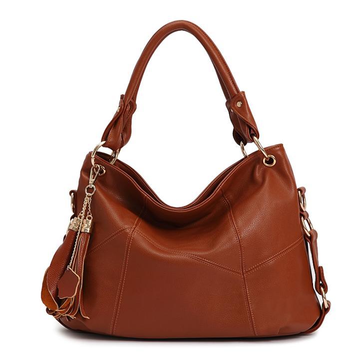 2016 Hot sale women handbag PU leather handbags fashion women tote bag free shipping(China (Mainland))