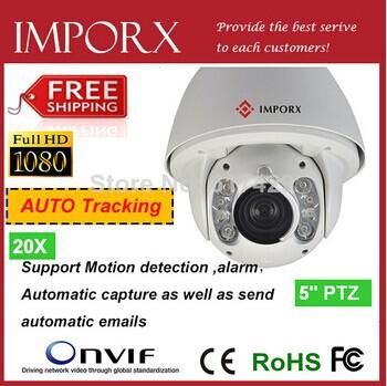 2014 Top 10!!! Auto-Tracking 20X High-Speed 150M IR auto track ptz IP camera with wall bracket 2 HD auto-tracking ip camera(China (Mainland))