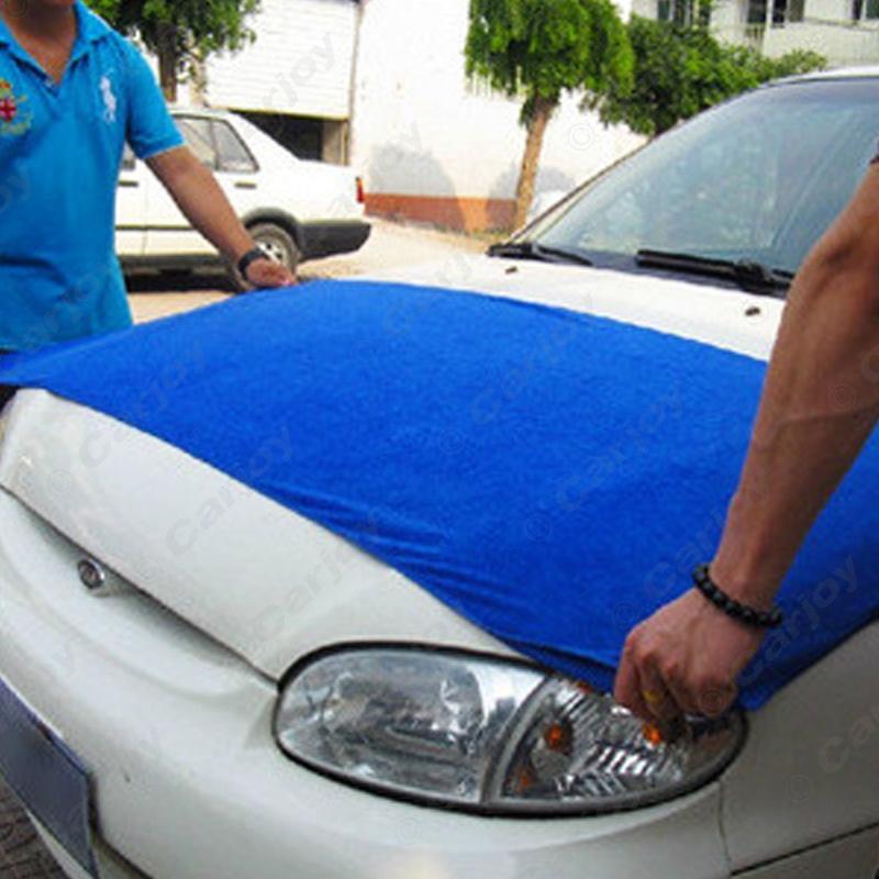 1pc Free shipping - Large 60x160CM Blue Microfiber Towel Car/Auto Wash Cleaning Polish Cloth #CA5427(China (Mainland))