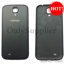 New arrive  and high quality For Samsung Galaxy S4 i9505 i9500 furs leather Battery back Cover Black and white color(China (Mainland))