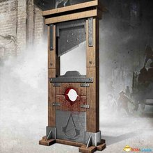 Assassin's Creed Unity Guillotine Bottle opener 2015 New arrival 4*10cm Zinc alloy Creative Toys Great quality In STOCK(China (Mainland))