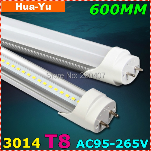 2pcs/lot,600mm T8 led tube light, AC95-265V 9W led t8,SMD3014 800lm Top quality Epistar Chip CE &amp; ROHS Cold white/Warm white<br><br>Aliexpress