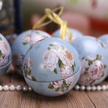 Mini Round Tin Box,Portable Candy Tea Storage Boxes,Baby Birthday Wedding Party Candy Box Bag,Christmas Gift Box Tree Ornaments(China (Mainland))