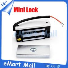 60кг 12 в постоянного тока мини электрический магнитный замок двери