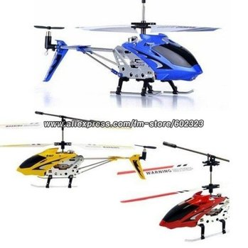 SYMA S107 S107G RTF 3CH Helicopter RC With GYRO & Aluminum Fuselage Helicopter Toy Helicopter Game
