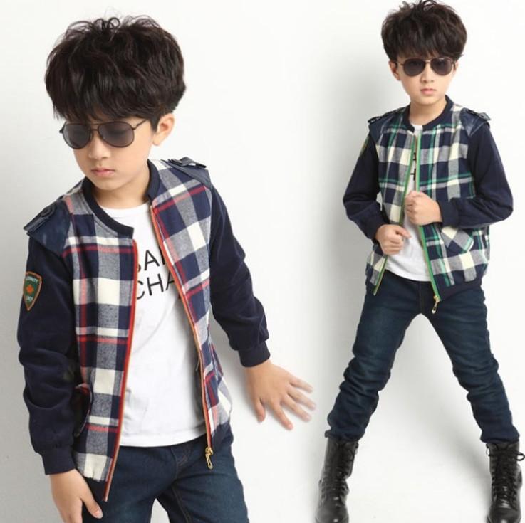 Куртка для мальчиков Other + PU 886-QZ