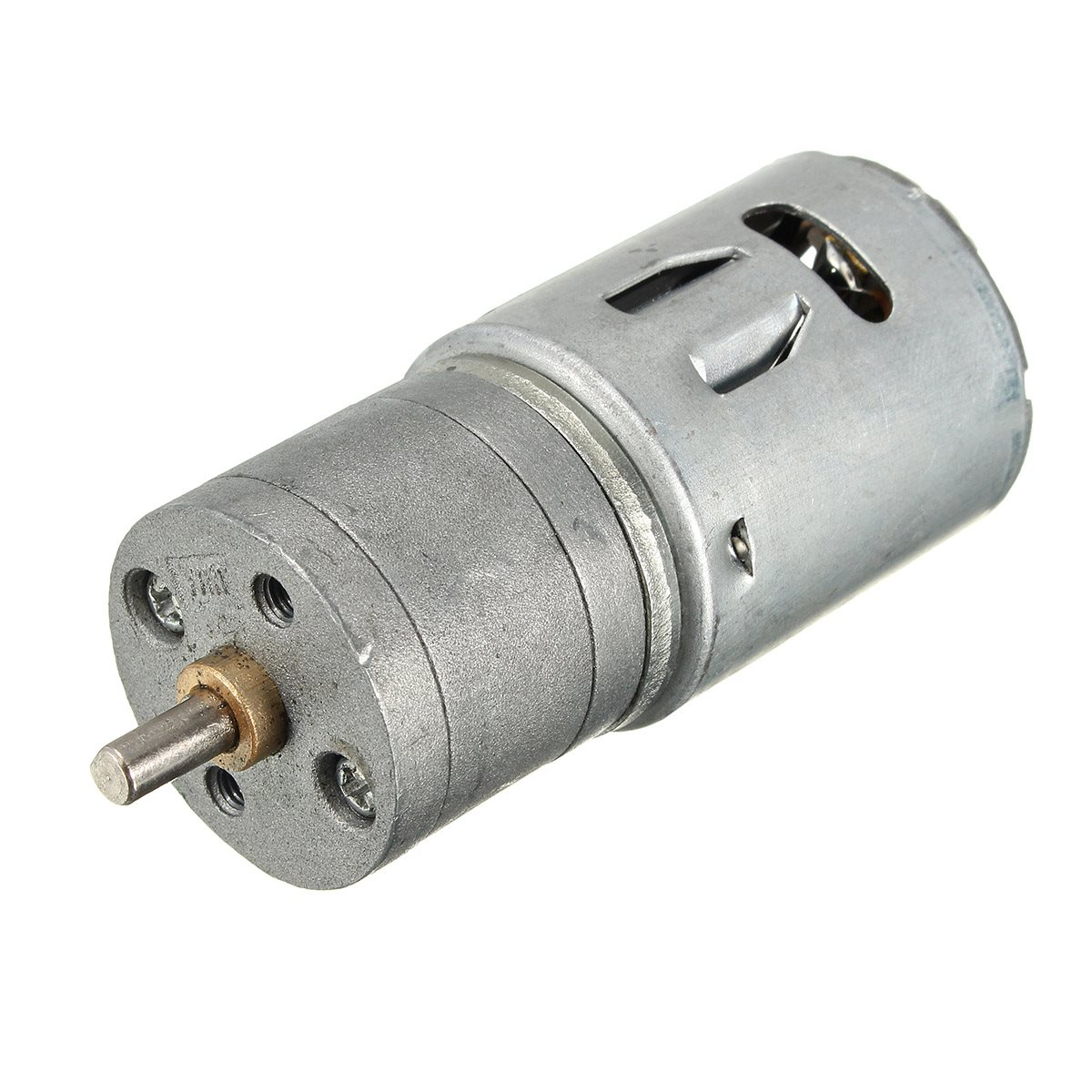 12V 6V DC 100RPM Powerful Torque Micro Speed Reduction Electric Gear Box Motor For Rc Models(China (Mainland))