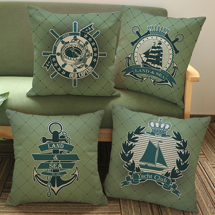 luxury home decoration outdoor Car sofa seat cushion cushions pillow ship mark wall sticker Diamonds Embroidery Pattern printing
