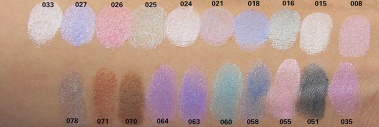 20 Colors Eye Shadow Makeup Powder Naked Pigment Mineral Shimmer Matt Shadows Make Up Highlighters Brightens Brands Eyeshadow