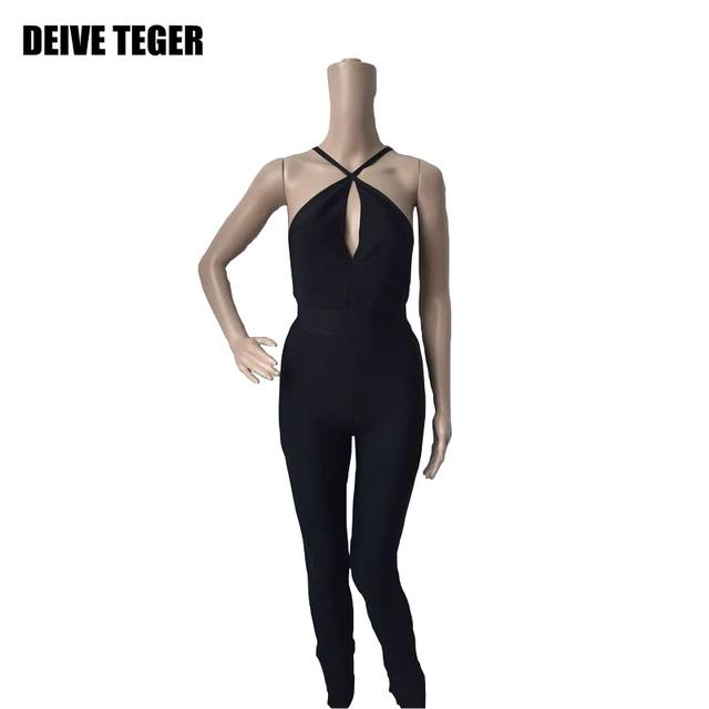 DEIVE TEGER бесплатная доставка 2015 новый прибытие твердые комбинезон мода бинты ...
