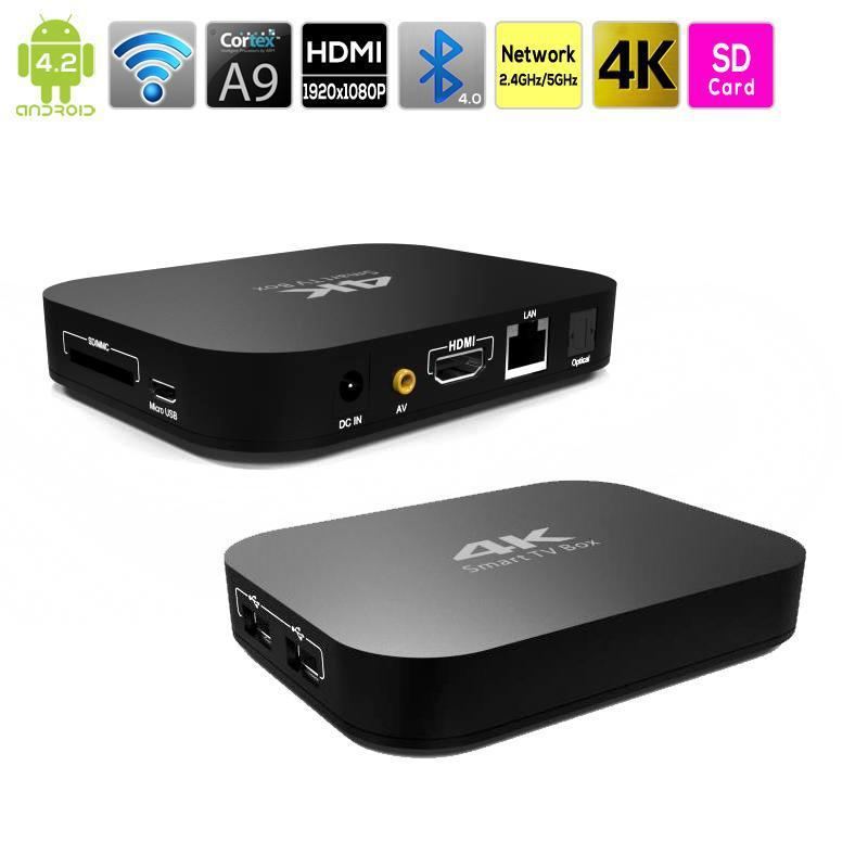 Amlogic M8 S802 Quad Core Android TV Box Smart Android4.4 OS XBMC 2G 8G 4K 2.4G/5G Bluetooth Dual WiFi Mali450 HDMI 1080P player<br><br>Aliexpress