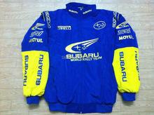 Embroidery LOGO F1 NASCAR Cotton Jackets for SUBARU World Rally Team Jacket AB083(China (Mainland))
