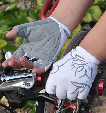 New HANDCREW MTB Summer Cycling Gloves half finger Breathable/Soft Gel Skateboard/Bike Gloves Women/kids/ Sports Running Gloves(China (Mainland))