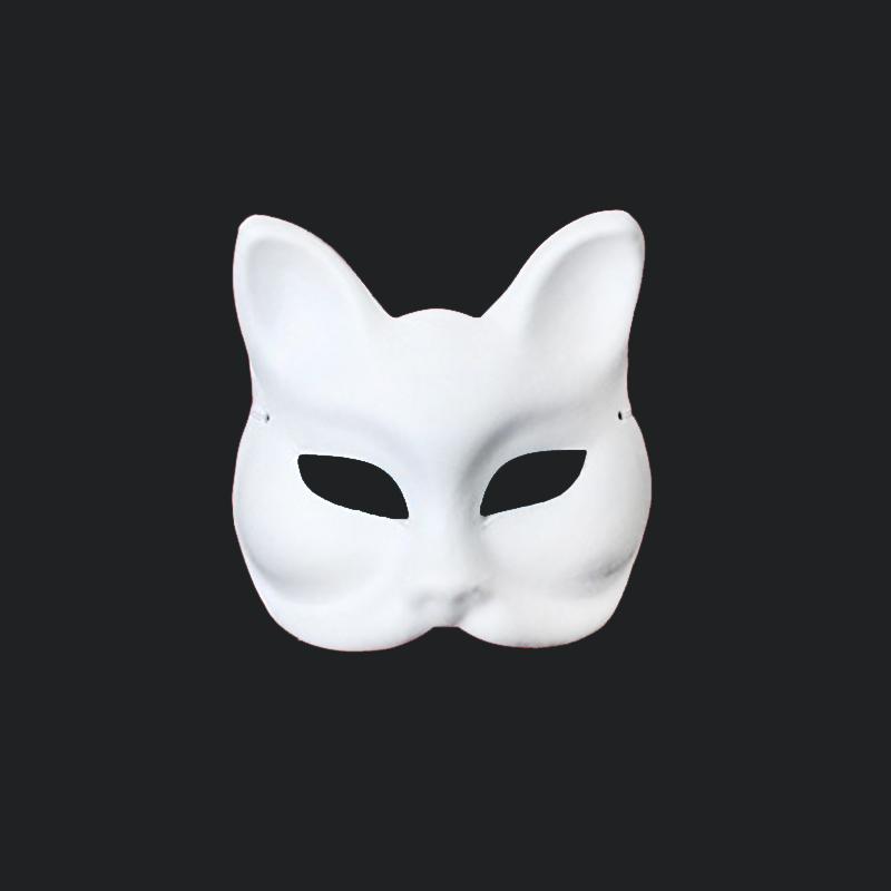 High Quality 1pcs Sexy White Mask Halloween Masquerade Sexy Lady Fox Mask Free Shipping(China (Mainland))