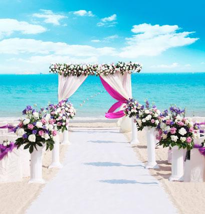 Afv beach wedding