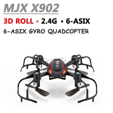 RC UAV MJX X902 Mini rc drones 2.4G 4CH 6-Axis with inverted flight 3d flip roll rc helicopter drone quadcopter vs jjrc H8