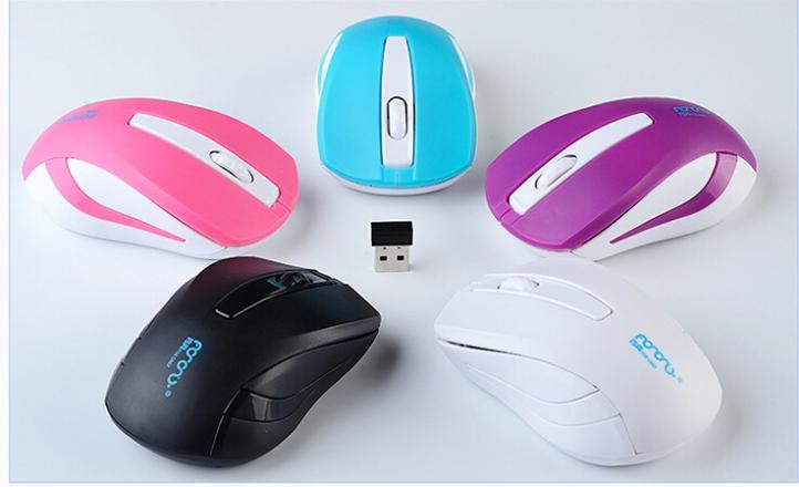 V10 lovely 2.4G Optical Usb Wireless PC Gaming Mouse Mice for for laptops desktop Mouse(China (Mainland))