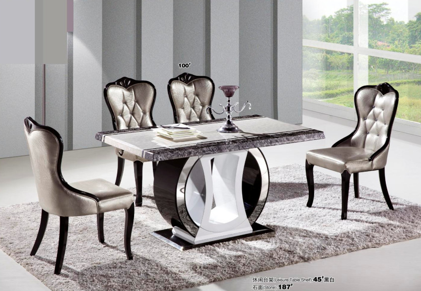 modern marble top dining table promotion shop for