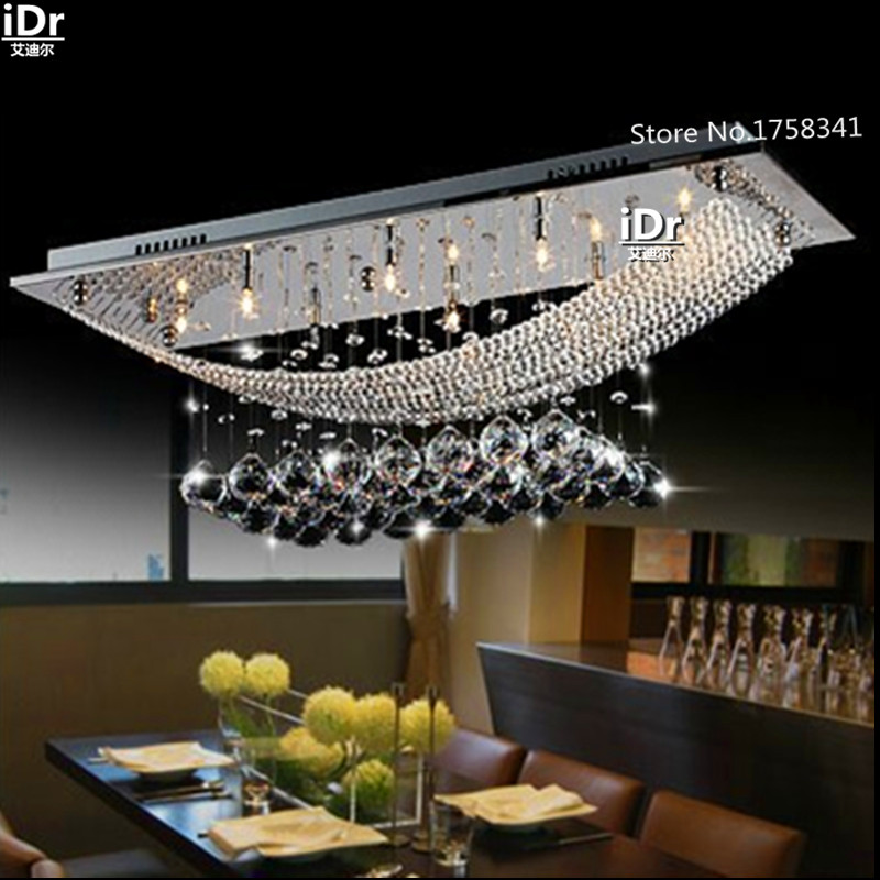 Contemporary chandelier light Crystal Dining Ceiling Lamp crystal Bedroom lamp Hall High-grade light(China (Mainland))
