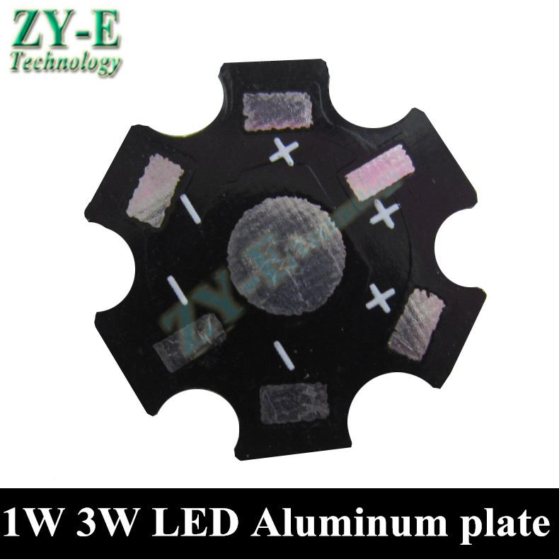 1W 3W 5W LED Aluminum plate,4pin 6pin RGB led pcb ,aluminum base panel for bead led bulb light spotlight lights free shipping(China (Mainland))