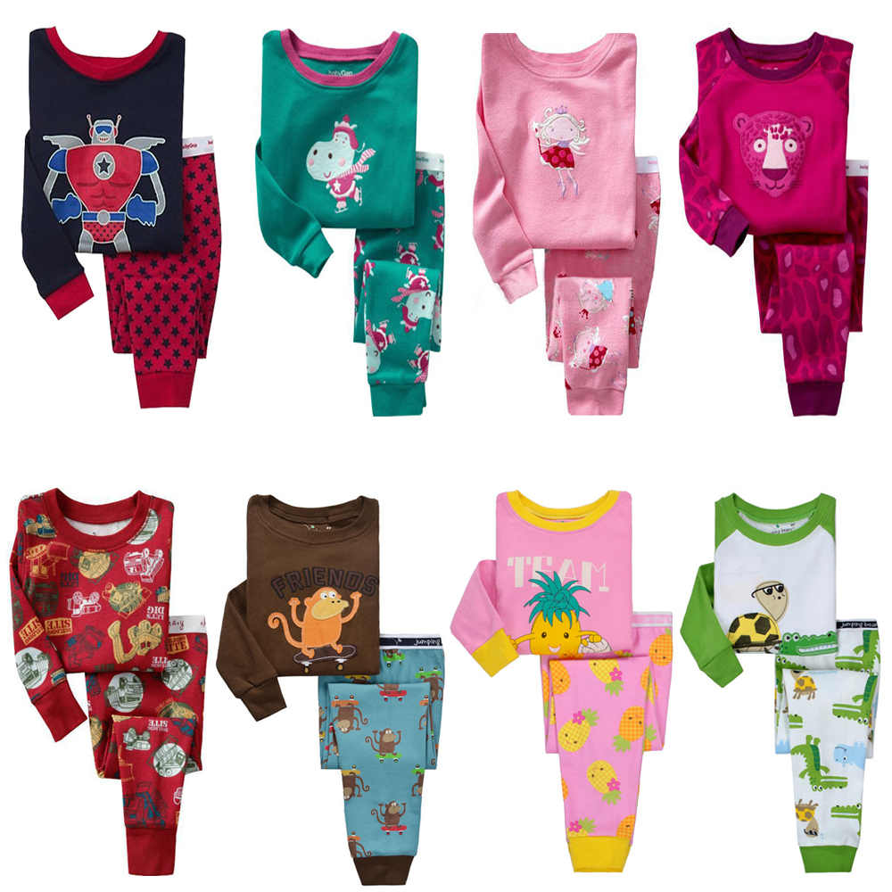 wholesale hot brand boys girls winter clothing set bebe infant clothes newborn outfit organic cotton pajamas clothes suits(China (Mainland))